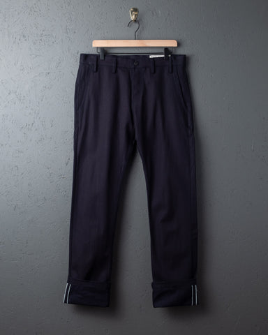 Rogue Territory Officer Trousers - Indigo Selvedge Canvas