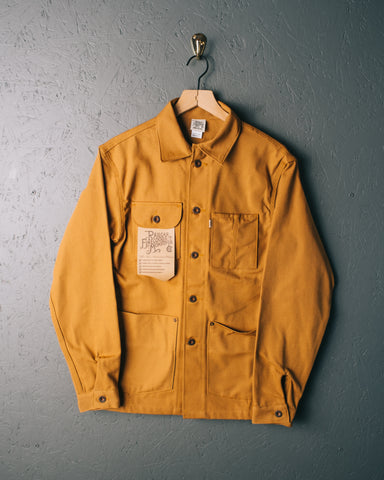 Railcar Duck Canvas Chore Coat - Camel