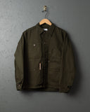 Tellason Garment-Dyed Coverall Jackets - Green