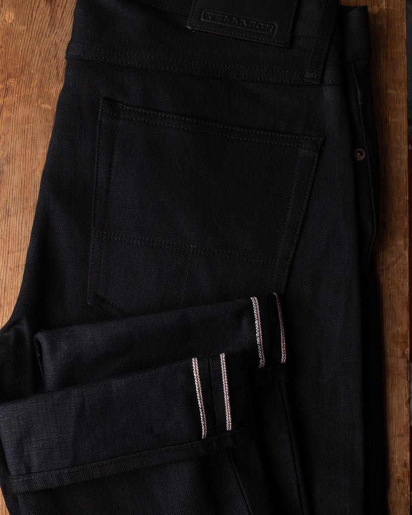 Tellason Ladbroke Grove Jeans - Black Selvedge Denim