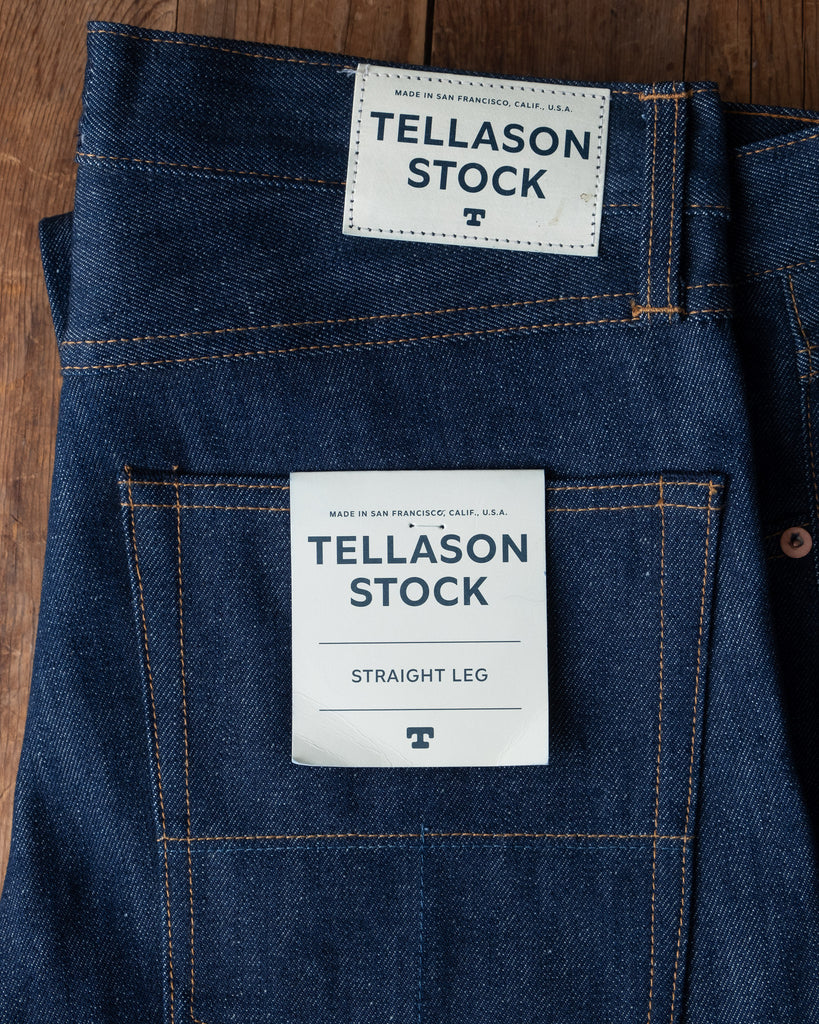 Tellason Stock Jeans - Slim Tapered & Straight Leg