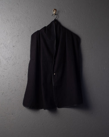 3sixteen Wool Snap Shawl - Black