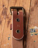 Whiskey Leatherworks Belts - Brown & Natural