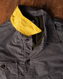 Tellason Waxed Canvas Coverall Jacket - Gray