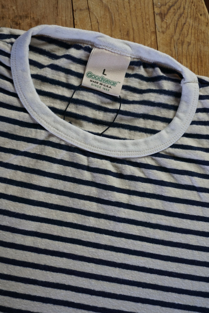 Goodwear Striped Hemp-Organic Cotton T-Shirt