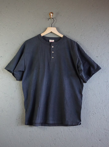 Goodwear X-Heavyweight SS Henley - Black