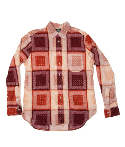 Gitman Bros. Vintage Shirt - Red Paisley