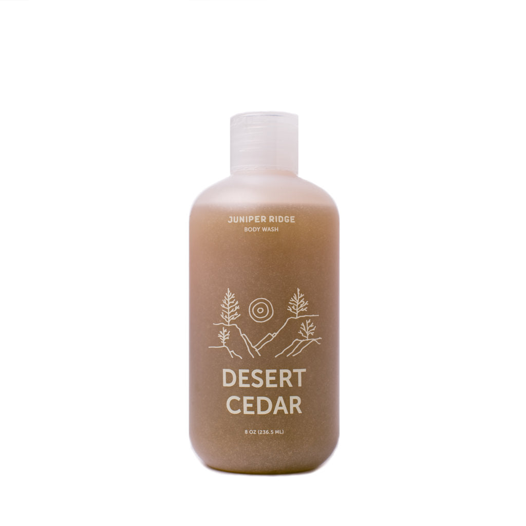 Juniper Ridge Desert Cedar Body Wash - 8 oz. and 2 oz.