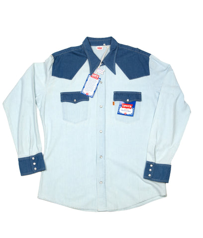 Levi's Vintage Clothing 1970s Double Trouble Shirt