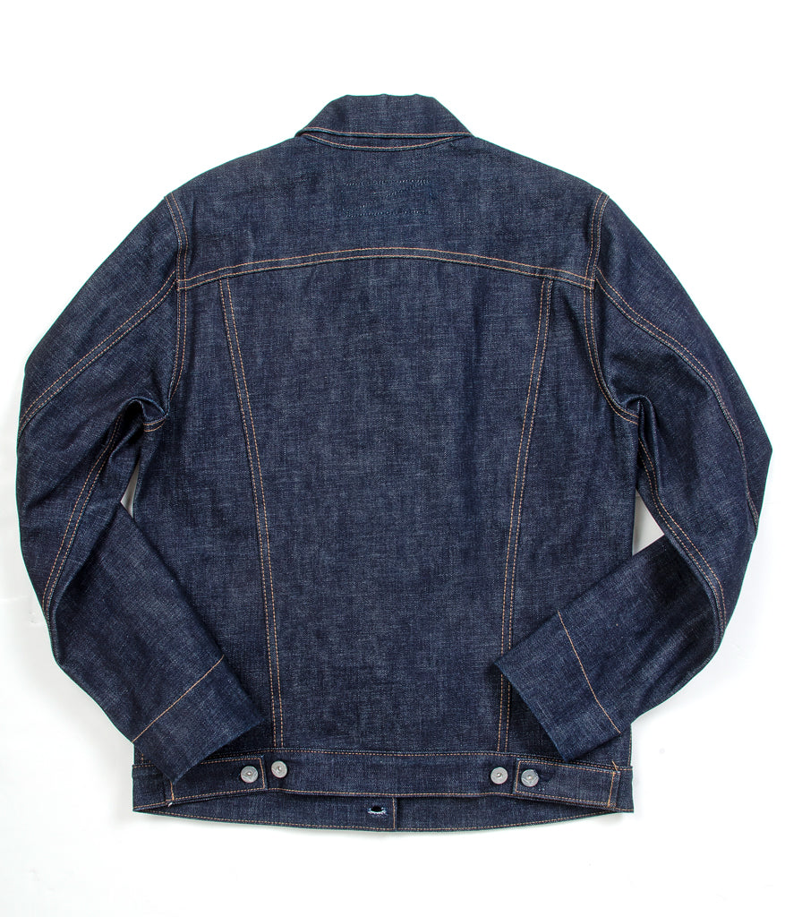 Rogue Territory Supply Jacket - Black & Indigo Selvedge