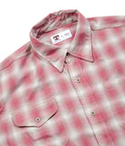 Tellason Long Sleeve Shadow Plaid Shirt