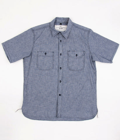 Rogue Territory Short-Sleeve Work Shirt - Selvedge Canvas