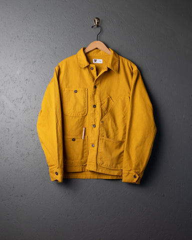Tellason Garment-Dyed Coverall Jacket - Gold