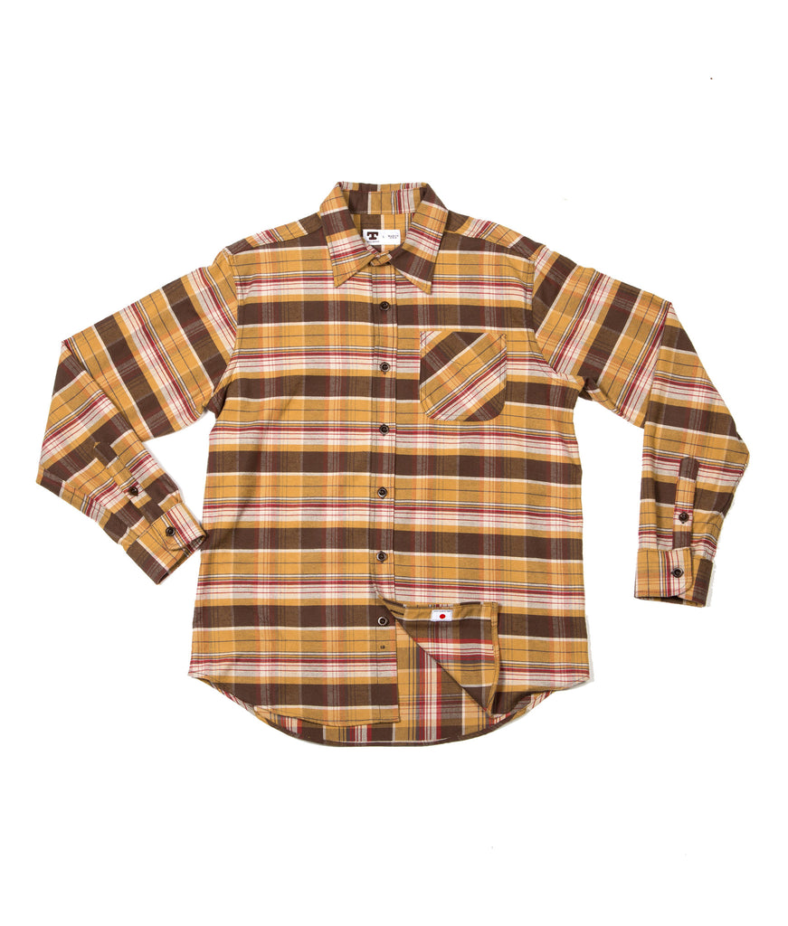 Tellason W10 Shirt - Japanese Plaid