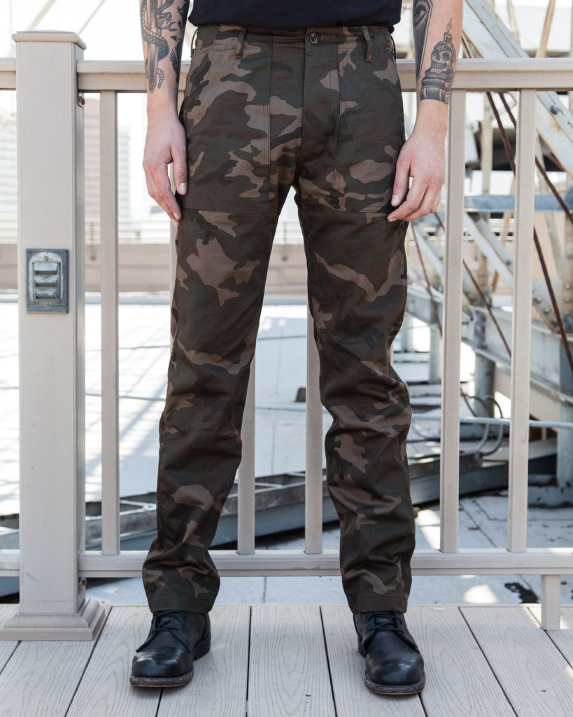 03ad518dae6 Tellason Camo Fatigue Pants