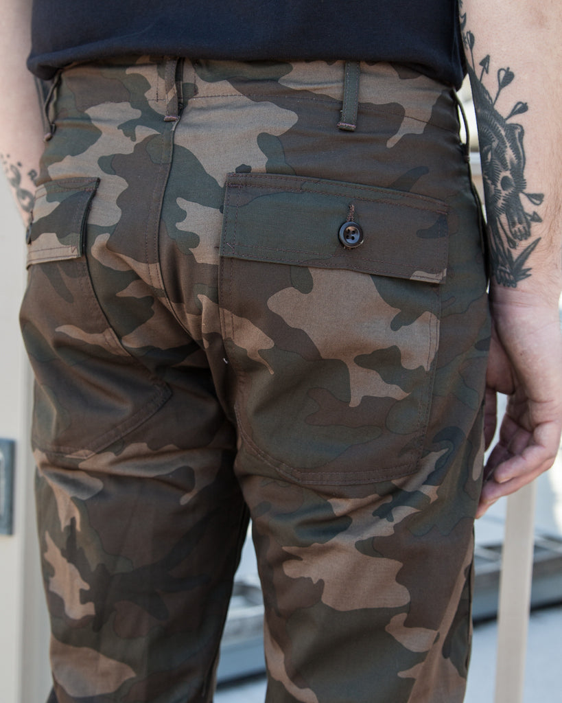 Tellason Camo Fatigue Pants