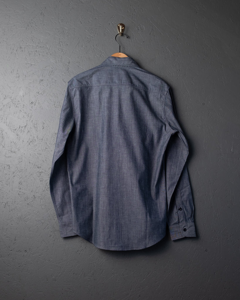 Tellason Cone White Oak Chambray Shirt