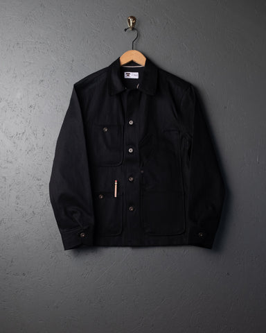 Tellason Coverall Denim Jacket - Black