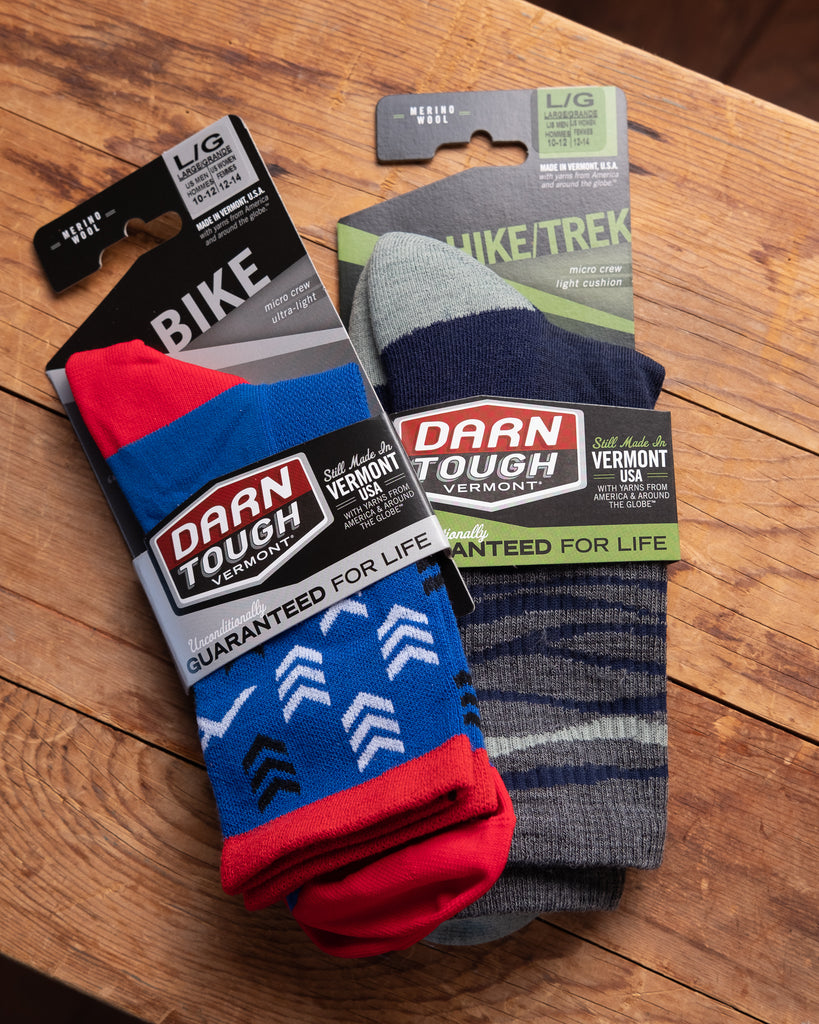 Darn Tough Bike & Hike Trek Socks