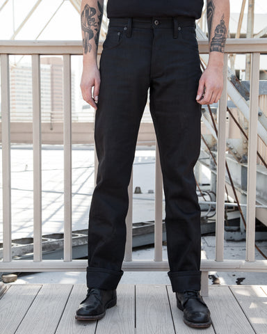 Left Field NYC Black Greaser Jeans