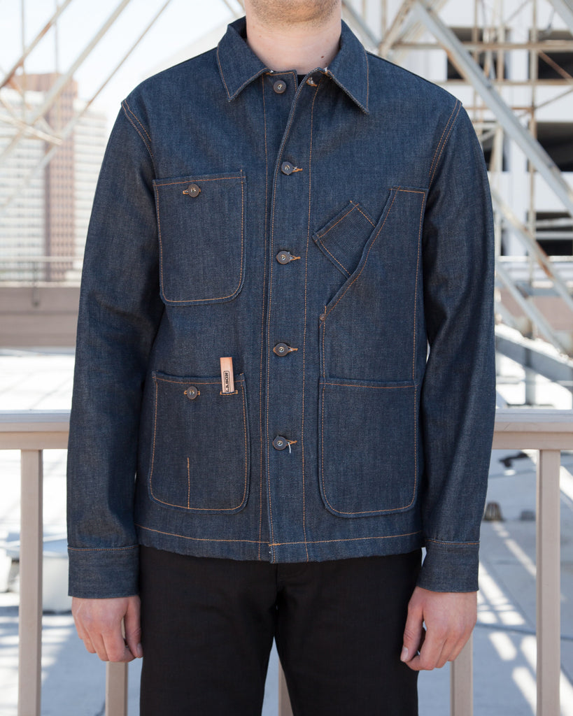 Tellason Coverall Denim Jacket - 12.5- & 16.5-oz.