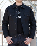 Tellason Jean Jacket - Black Japanese Denim