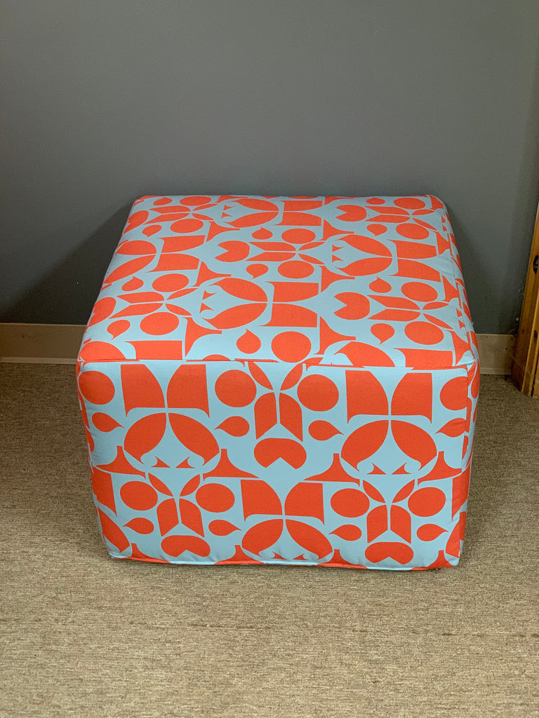 Indoor/Outdoor Cube Poufs
