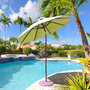 7.5 ft -  Auto-Tilt Aluminum Umbrella