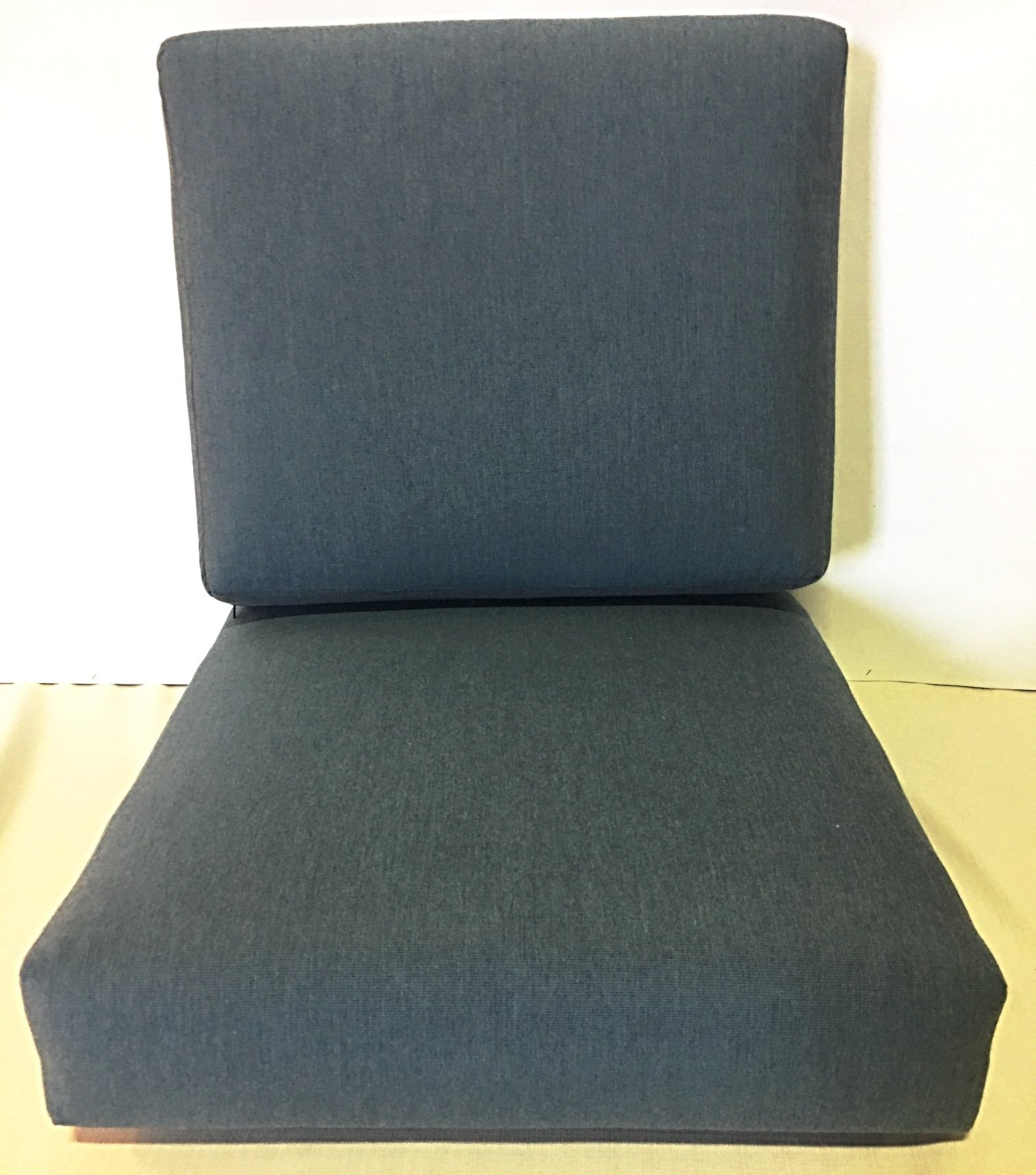 "2pc Sunbrella 4"" Cushion $179.00, 6 sizes"