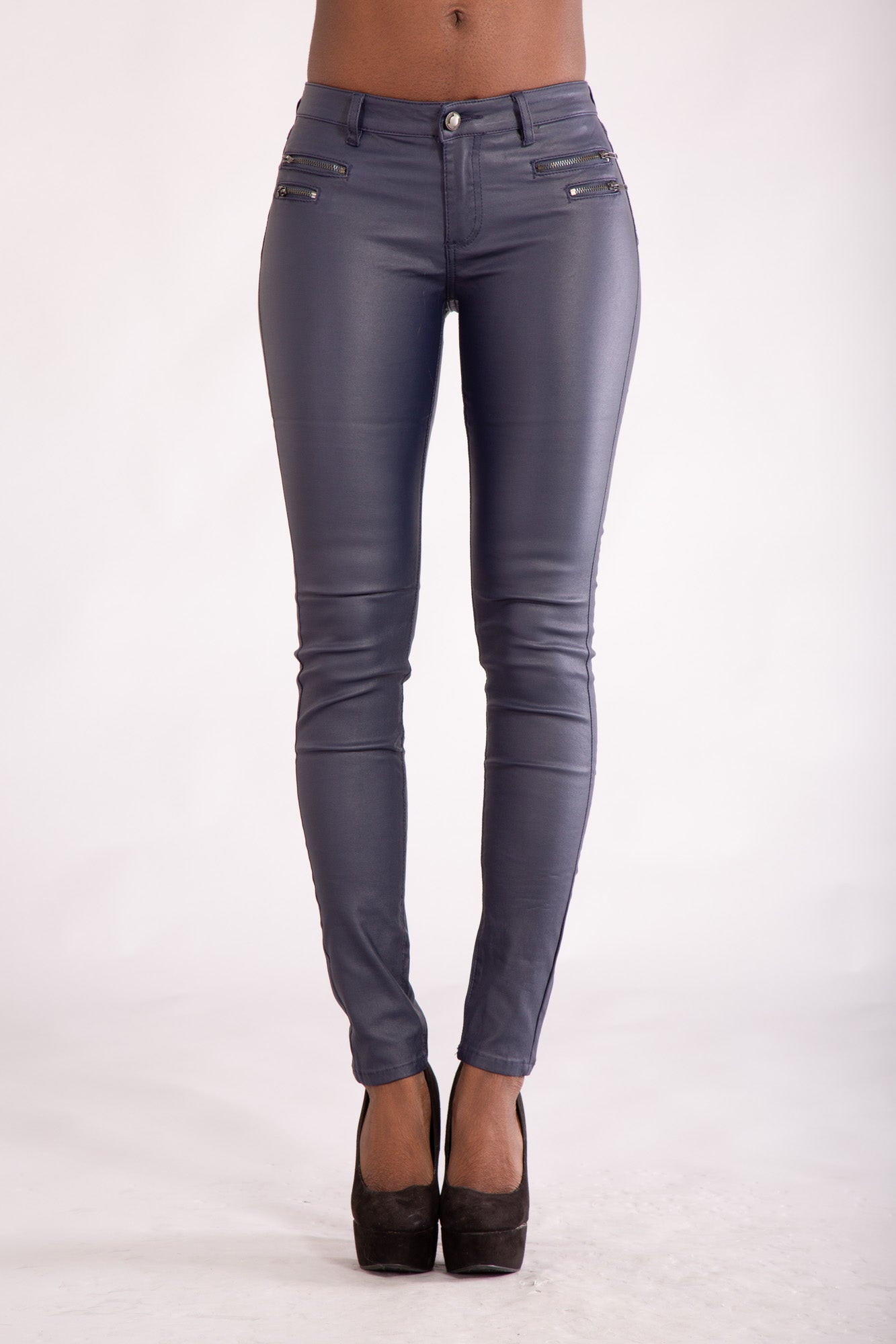 website for discount discount Sales promotion Leather Look - Denim Crush
