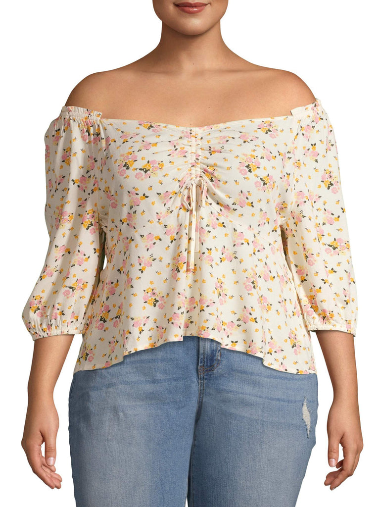 Flower Printed Ladies Top