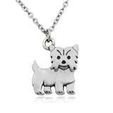 Yorkshire Terrier Dog Pendant Necklace - Passion's Fashion Closet