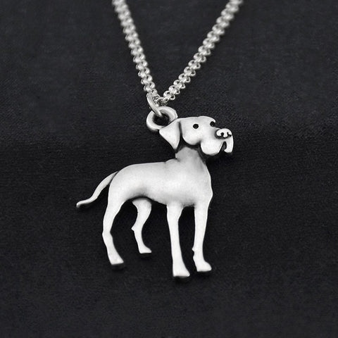 Great Dane Dog Necklace - Passion's Fashion Closet