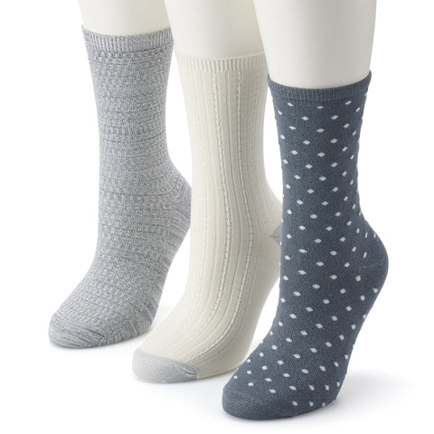 Ladies Crew Socks