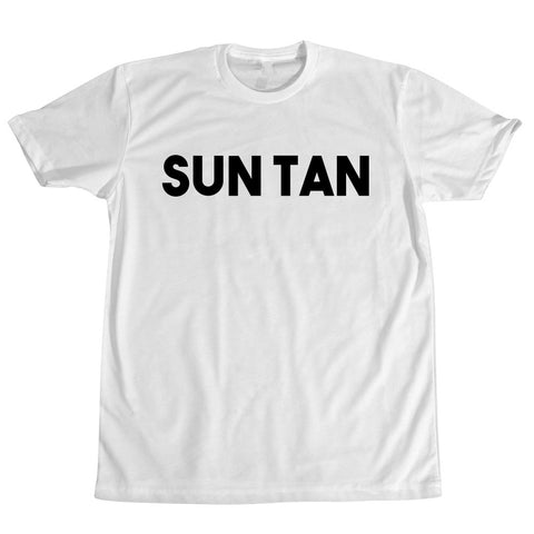 Sun Tan White T-Shirt