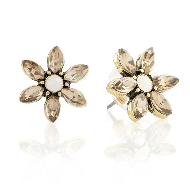 Lovett & Co Daisy Flower Earrings