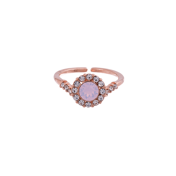 Lily and Rose Sofia Ring in Rosewater Opal