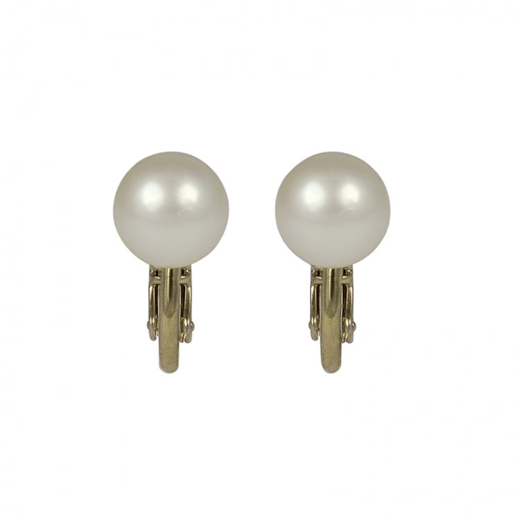 Lovett & Co Small Pearl Clip On Earrings