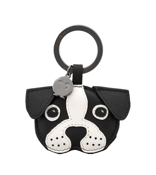 Yoshi Max The Dog Leather Keyring