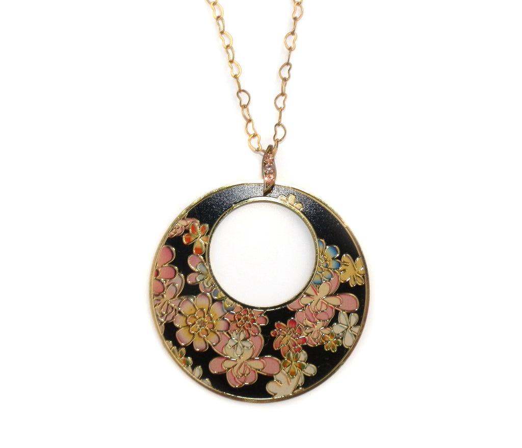 Rosie Fox Summer Flower Hoop Long Necklace - Jewella accessories - 1