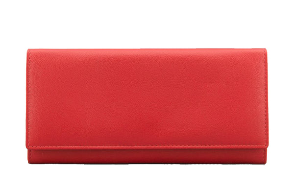 Yoshi Red Leather Matinee Purse