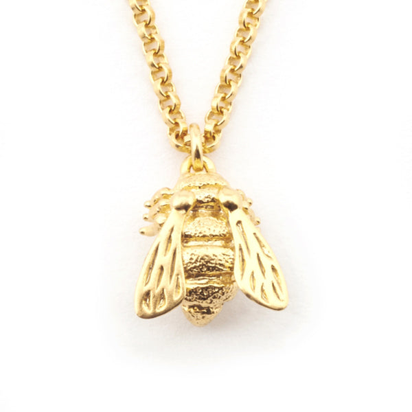 Bill Skinner Baby Bee Pendant Necklace