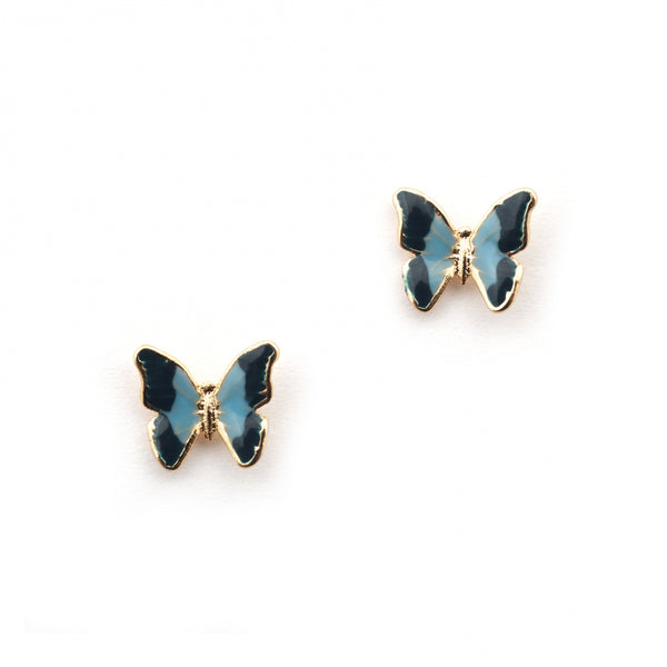 Bill Skinner Mini Butterfly Stud Earrings