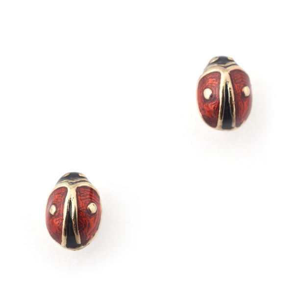 Bill Skinner Mini Ladybird Stud Earrings