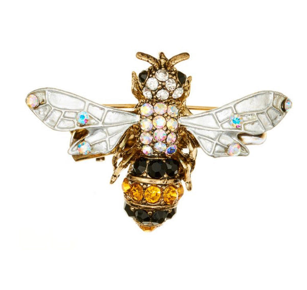 Rosie Fox Bee Hair Clip & Brooch