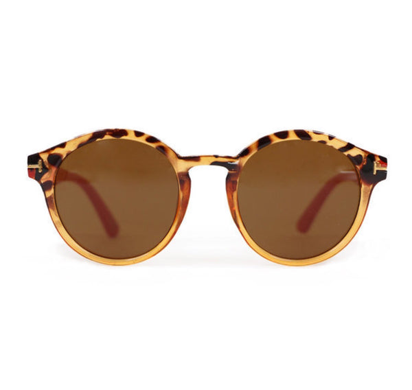 Powder Coral Erin Sunglasses