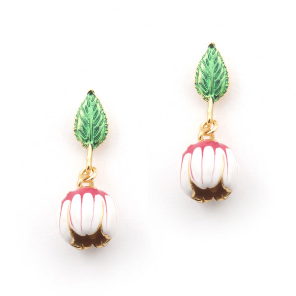 Bill Skinner Floral Bud Drop Earrings