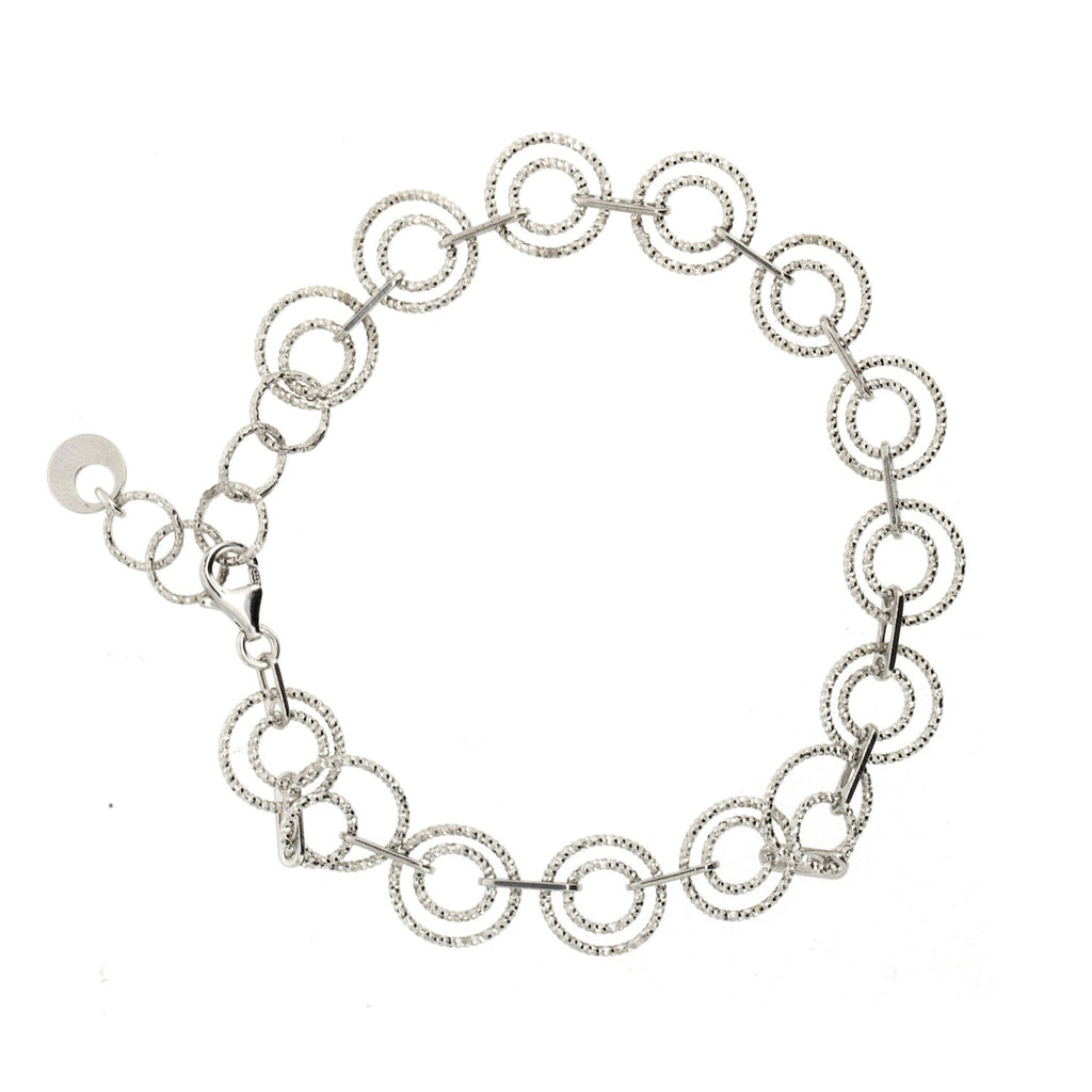 Penny Levi Diamond Cut Bracelet