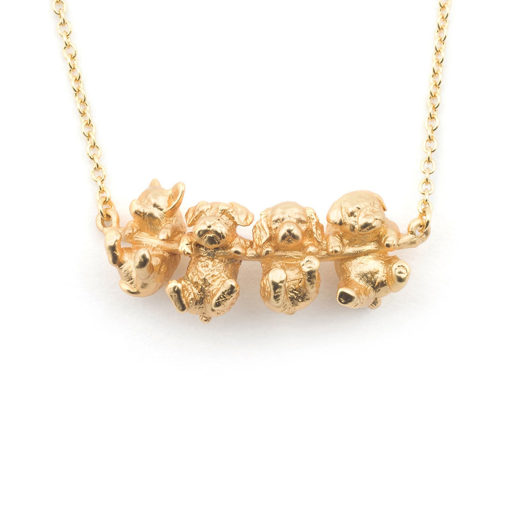 Bill Skinner Puppy Dog Necklace