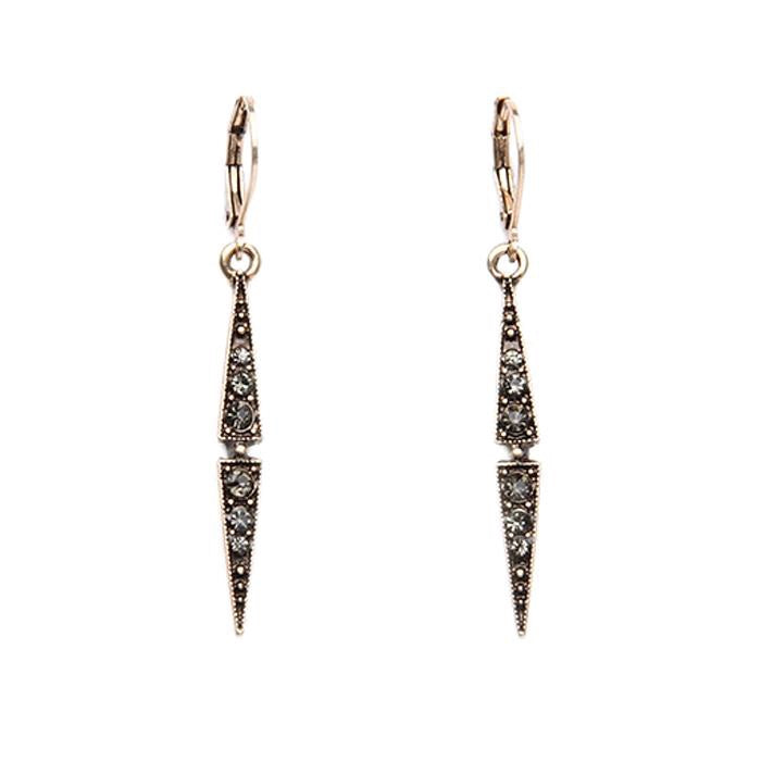 Last True Angel Thin Drop Earrings